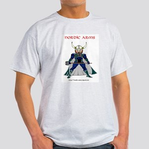 Nordic Arms Super Bjorn Ash Grey T-Shirt