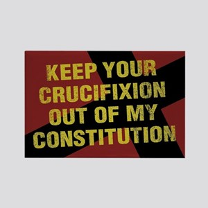 Keep Your Crucifixion Rectangle Magnet