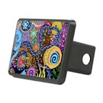 Abstract Colorful Tribal art Celebration Rectangul