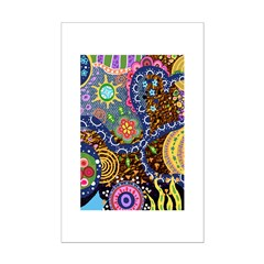 Abstract Colorful Tribal art Celebration Posters