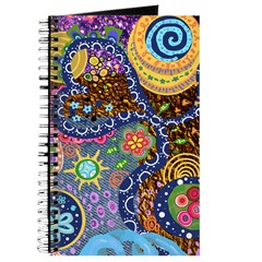 Abstract Colorful Tribal art Celebration Journal