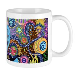 Abstract Colorful Tribal art Celebration Mug