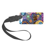 Abstract Colorful Tribal art Celebration Small Lug
