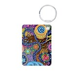 Abstract Colorful Tribal art Celebration Aluminum
