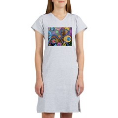 Abstract Colorful Tribal art Celebration Women's N
