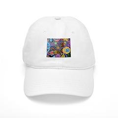 Abstract Colorful Tribal art Celebration Baseball Cap