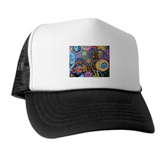 Abstract Colorful Tribal art Celebration Trucker Hat