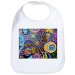 Abstract Colorful Tribal art Celebration Bib
