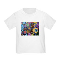 Abstract Colorful Tribal art Celebration T