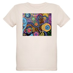 Abstract Colorful Tribal art Celebration T-Shirt