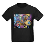 Abstract Colorful Tribal art Celebration Kids Dark