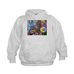 Abstract Colorful Tribal art Celebration Hoodie