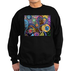 Abstract Colorful Tribal art Celebration Sweatshir