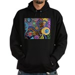 Abstract Colorful Tribal art Celebration Hoodie (d