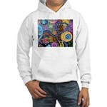 Abstract Colorful Tribal art Celebration Hooded Sw