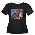 Abstract Colorful Tribal art Celebration Women's P