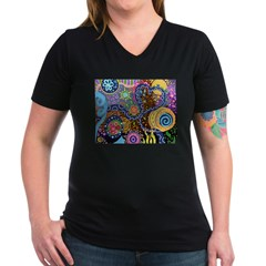 Abstract Colorful Tribal art Celebration Shirt
