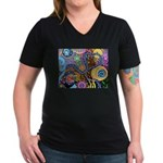 Abstract Colorful Tribal art Celebration Women's V