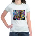 Abstract Colorful Tribal art Celebration Jr. Ringe
