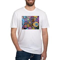 Abstract Colorful Tribal art Celebration Shirt
