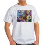 Abstract Colorful Tribal art Celebration Light T-S