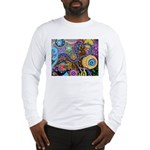 Abstract Colorful Tribal art Celebration Long Slee