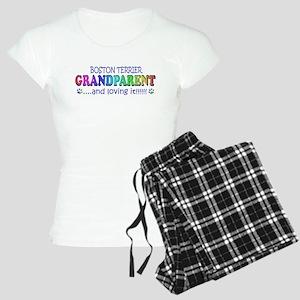 boston terrier Women's Light Pajamas