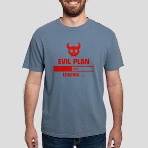 EvilPlanLoading1A Mens Comfort Colors Shirt