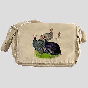 Four Guineafowl Messenger Bag