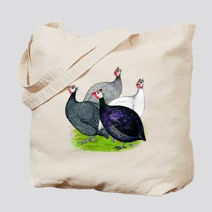 Four Guineafowl Tote Bag