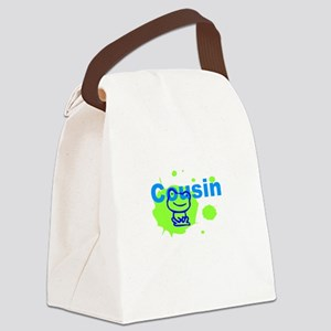 Cousin Little Frog Canvas Lunch Bag