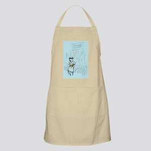 Hipster in the Italian Market Apron