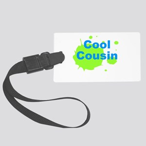 Cool Cousin Large Luggage Tag