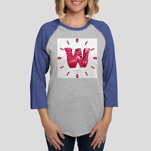 jtlpbwclok Womens Baseball Tee