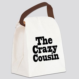The Crazy Cousin Canvas Lunch Bag