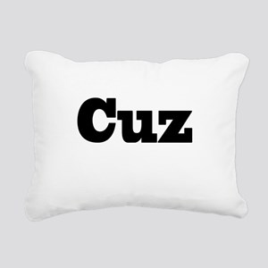 Cuz Rectangular Canvas Pillow