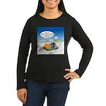 Weather Prep Women's Long Sleeve Dark T-Shirt