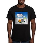 Weather Prep Men's Fitted T-Shirt (dark)