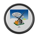 Weather Prep Large Wall Clock