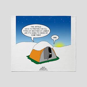 Weather Prep Throw Blanket