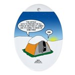 Weather Prep Oval Ornament