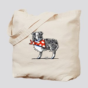 Blue Merle Aussie Tote Bag