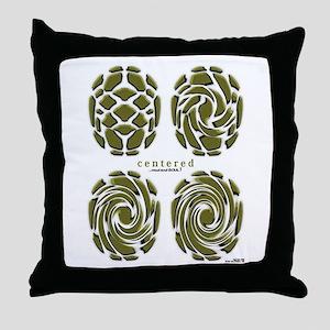 Centered Soul Throw Pillow