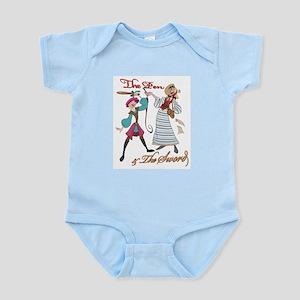 Loquacia & Zelda Infant Creeper