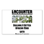 EAfrica Sticker (Rectangle 10 pk)