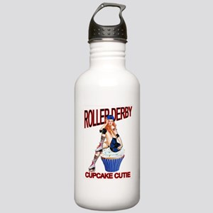 Roller Derby Cupcake Cutie Stainless Water Bottle