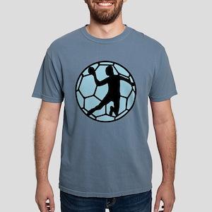 handball_man_on_ball Mens Comfort Colors Shirt