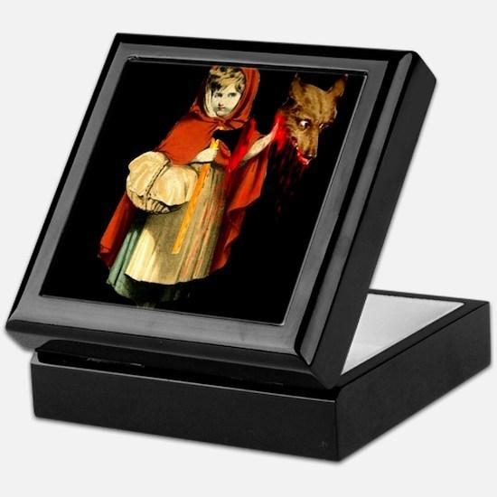 Little Red Riding Hood Gets Revenge Keepsake Box