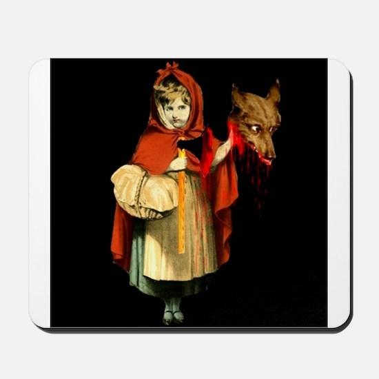 Little Red Riding Hood Gets Revenge Mousepad