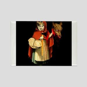 Little Red Riding Hood Gets Revenge Rectangle Magn